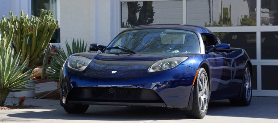 2008 Signature Series Roadster Midnight Blue