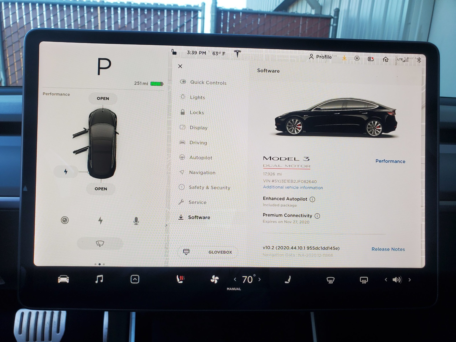 2018 Model 3 Performance full