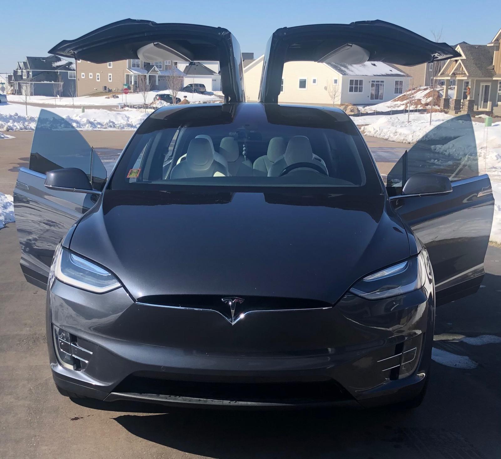 2016 Model X 75D full