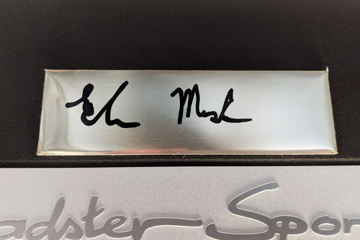 Elon Musk Signature Roadster