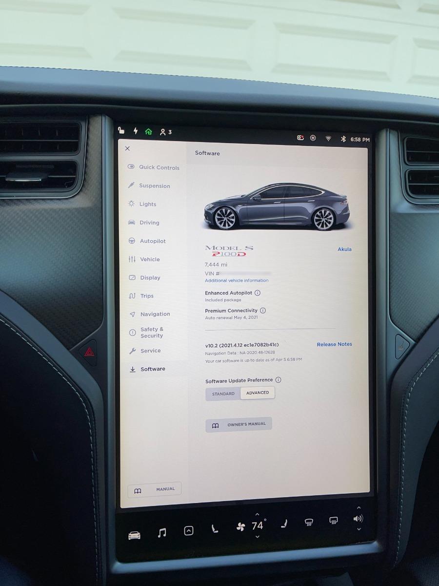 2018 Model S P100DL full