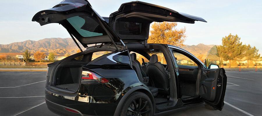 Model X Long Range AWD Solid Black