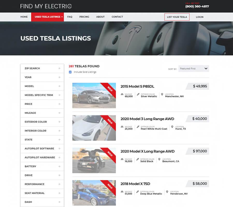 Sell My Tesla Online