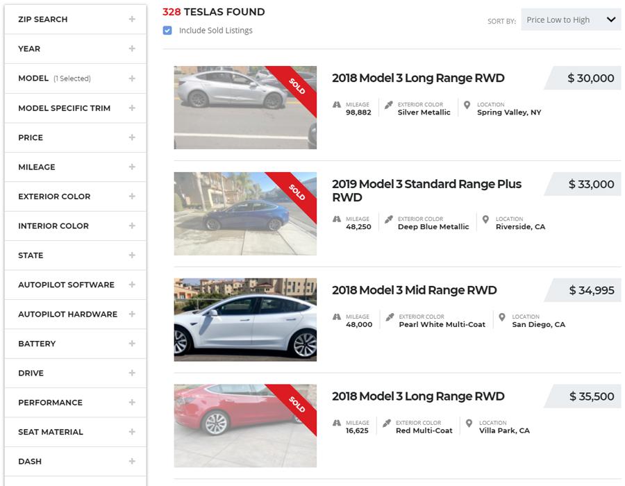 Tesla Model 3 for Under $30,000