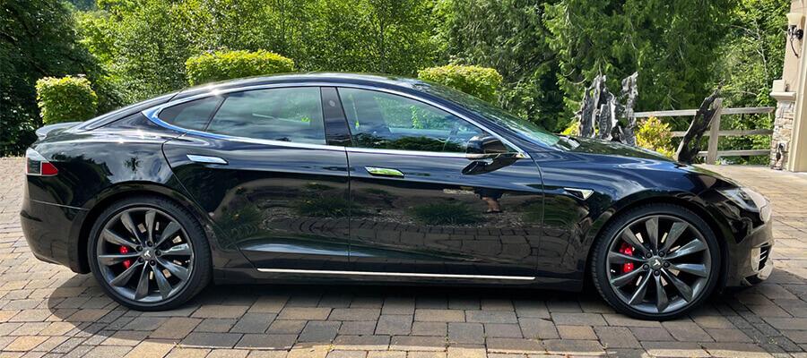 Tesla Model S P100DL Obsidian Black Metallic