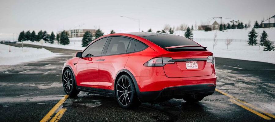 Tesla Model X 90D Red Multi-Coat