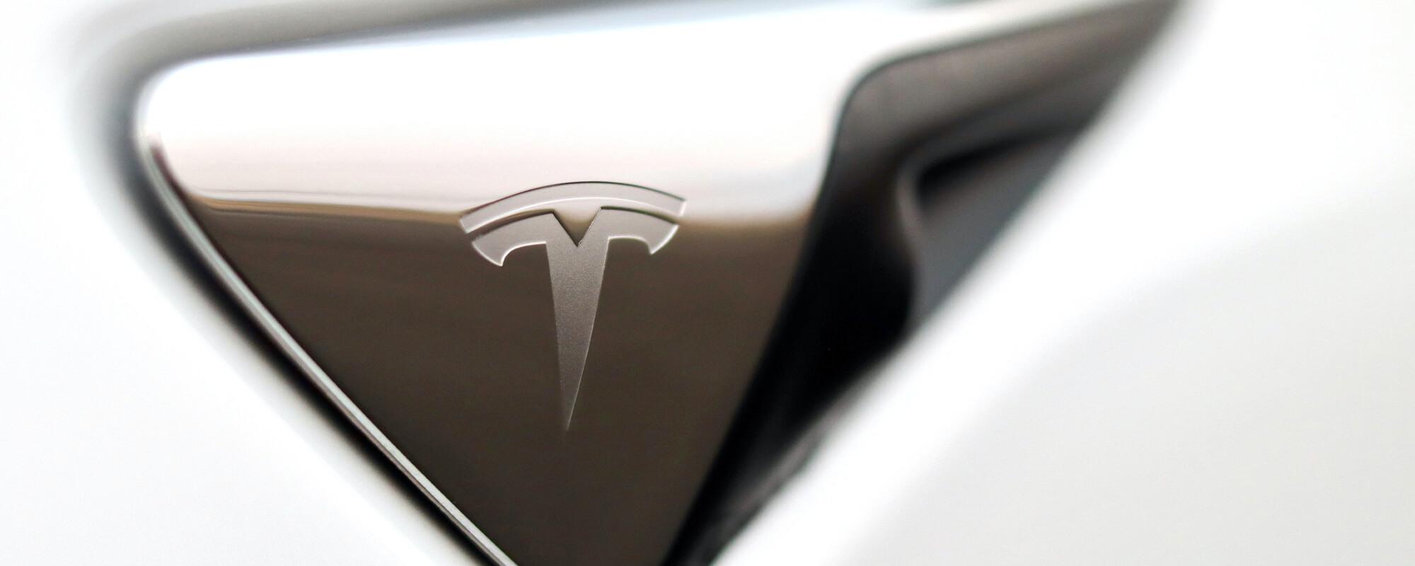 Tesla Model X Side Badge