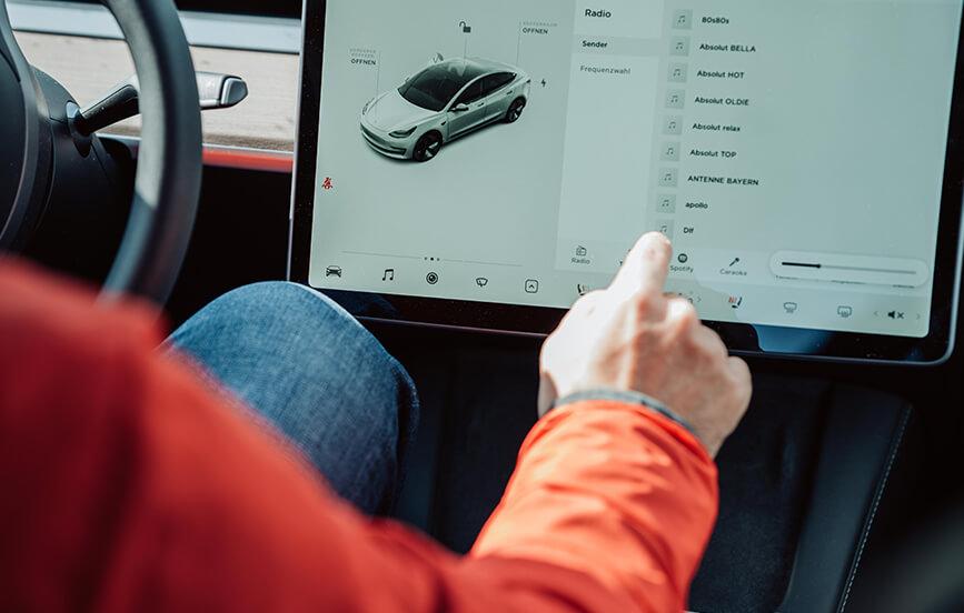 Tesla Over Air Update