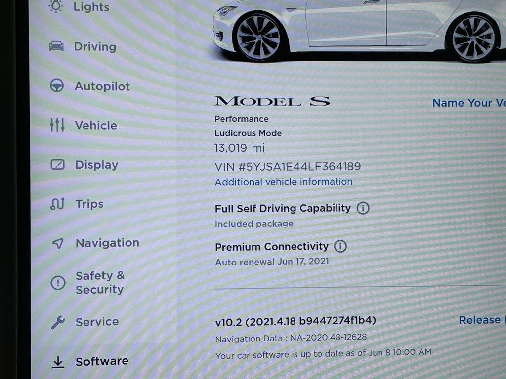 2020 Model S Performance full