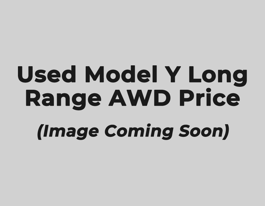 Used Model Y Long Range AWD Price