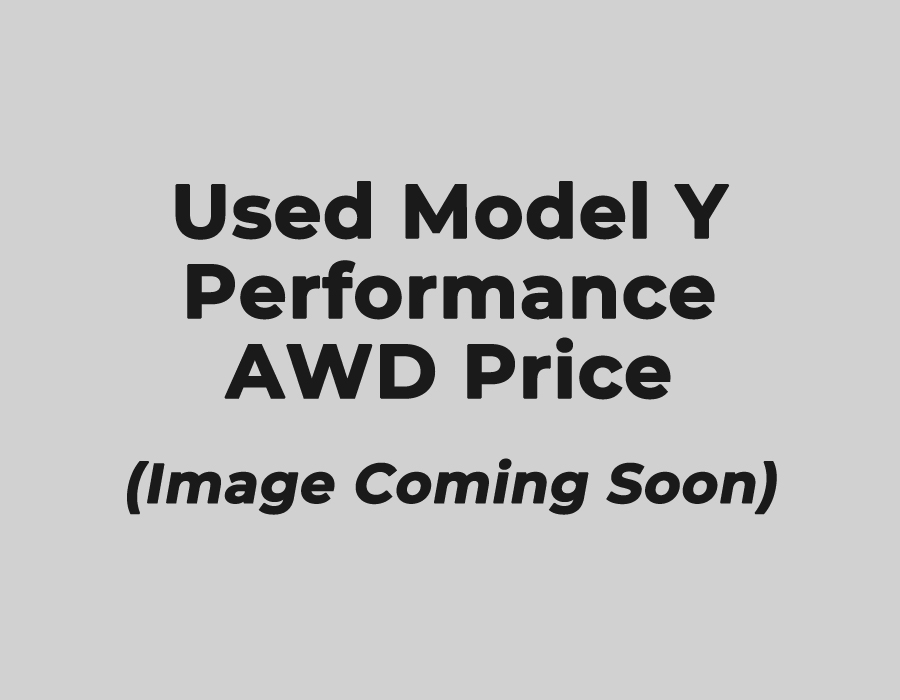 Used Model Y Performance AWD Price